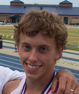 Michael Simmerson, 2006, 2007, 2008 Western Highlands Conference Champion 110M Hurdles; 2007, 2008 Western Highlands Conference Champion 300M Hurdles