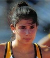 Sophia Treakle, 2006, 2007, 2008 MAC Conference Champion 300M and 110M Hurdles. Missed Senior year due to injury